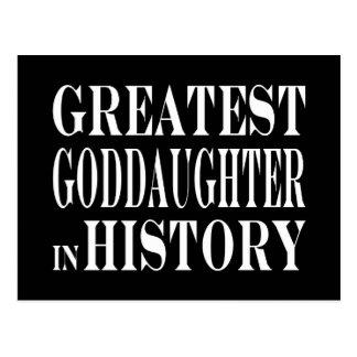 Best Goddaughters Greatest Goddaughter in History Postcards