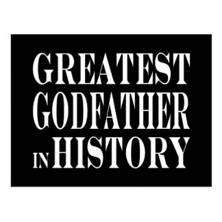 Best Godfathers Greatest Godfather in History Postcard