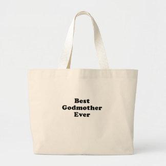 Best Godmother Ever Canvas Bag