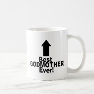 Best Godmother Ever Classic White Coffee Mug
