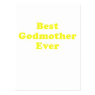 Best Godmother Ever Postcard