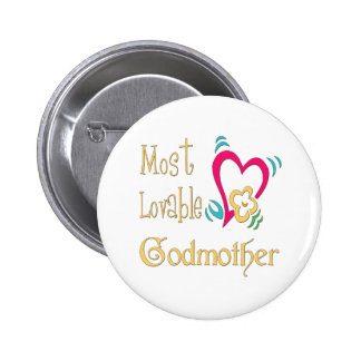 Best Godmother Gifts Pinback Buttons