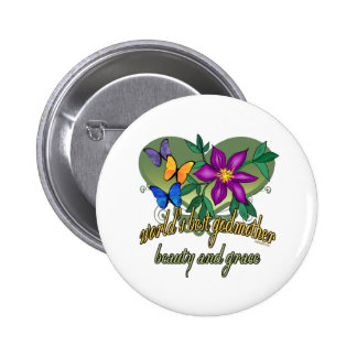 Best Godmother Gifts Buttons