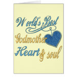 Best Godmother Gifts Greeting Card