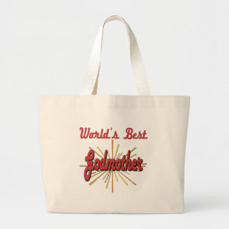 Best Godmother Gifts Large Tote Bag
