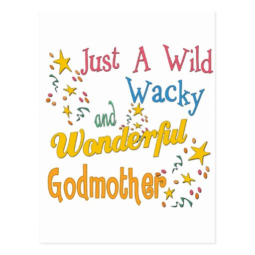 Best Godmother Gifts Postcard