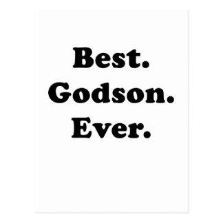 Best Godson Ever Postcard