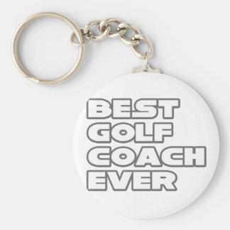 Best Golf Coach Ever Keychains