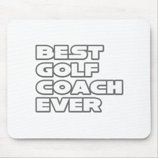 Best Golf Coach Ever Mouse Mat