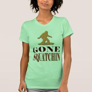 *BEST* Gone Squatchin, Bigfoot Squatch Ladies Tee