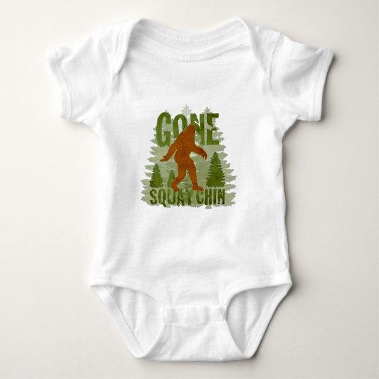 Best Gone Squatchin Design EVER! Baby Bodysuit