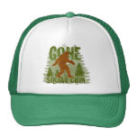Best Gone Squatchin Design EVER! Trucker Hat