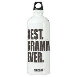 SIGG Traveller Water Bottle (0.6L) with Best. Gramma. Ever. design