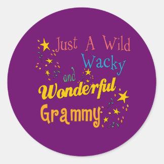 Best Grammy Gifts Classic Round Sticker