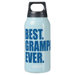 SIGG Thermo Bottle (0.5L) with Best. Grampa. Ever. (blue) design