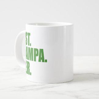 Best. Grampa. Ever. (green) 20 Oz Large Ceramic Coffee Mug