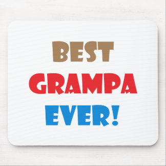 Best grampa ever mouse pad