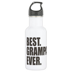 Best. Grampa. Ever. Water Bottle (24 oz)