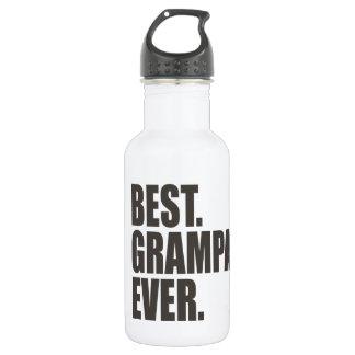 Best. Grampa. Ever. Stainless Steel Water Bottle