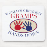 Best   Gramps Hands Down Mouse Pad