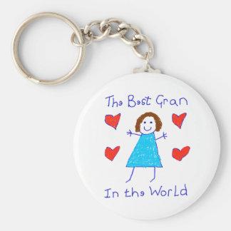 Best Gran In The World Keychain