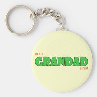 Best Grandad Ever Keychain