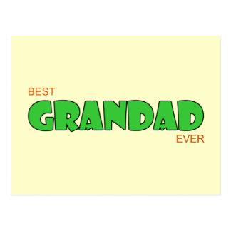 Best Grandad Ever Postcards