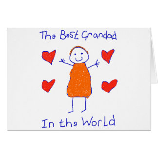Best Grandad In The World Card