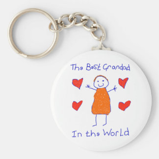 Best Grandad In The World Keychain
