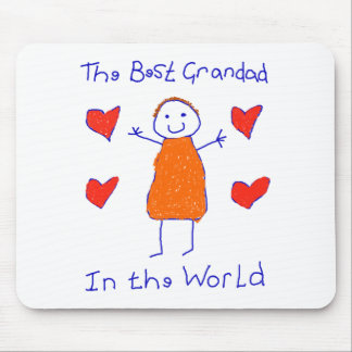 Best Grandad In The World Mouse Pad