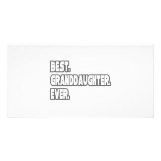 Best Granddaughter Ever Card