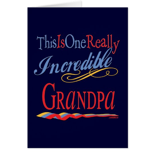 Best Grandfather Ever Card