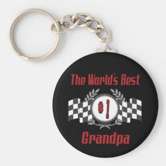 Best Grandfather Ever Keychain