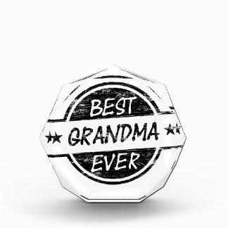 Best Grandma Ever Black Award