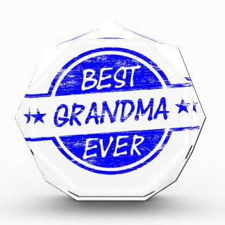 Best Grandma Ever Blue Award