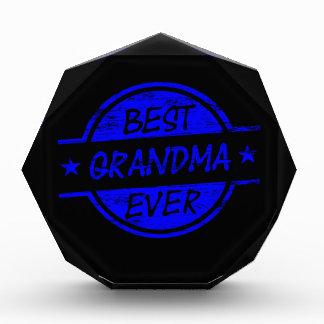 Best Grandma Ever Blue Awards