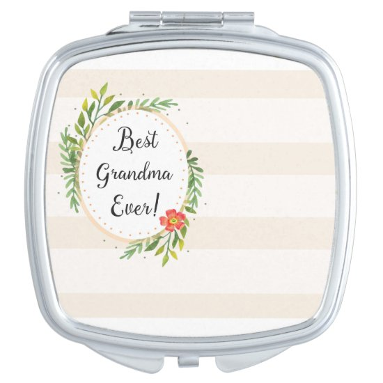 Best Grandma Ever Compact Mirror