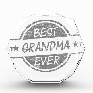 Best Grandma Ever Gray Award