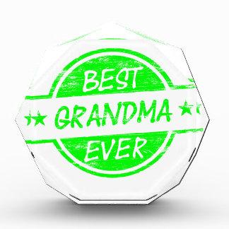 Best Grandma Ever Green Award