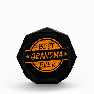 Best Grandma Ever Orange Awards