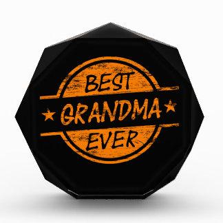 Best Grandma Ever Orange Award