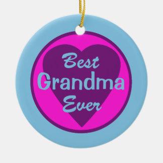 Best Grandma Ever Personalized Photo Ornament