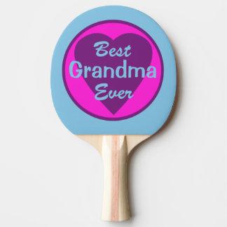 Best Grandma Ever Ping Pong Paddle