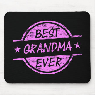 Best Grandma Ever Pink Mouse Pad