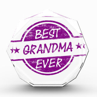 Best Grandma Ever Purple Award