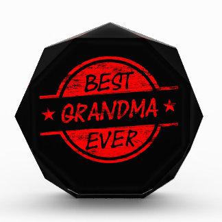 Best Grandma Ever Red Awards