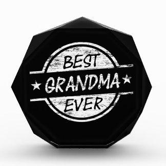 Best Grandma Ever White Awards