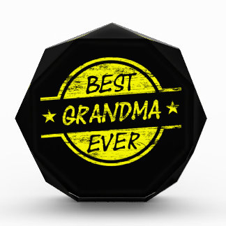 Best Grandma Ever Yellow Awards