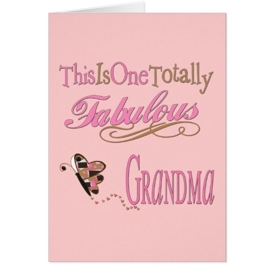 Best Grandma gifts Card