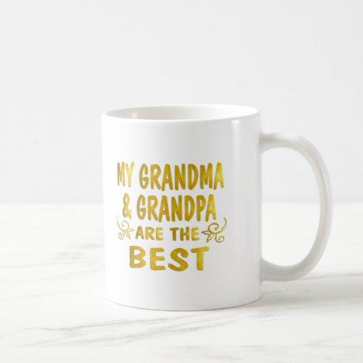 Best Grandma Grandpa Coffee Mug Zazzle